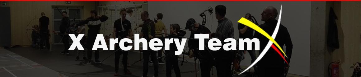 X Archery Team Banner